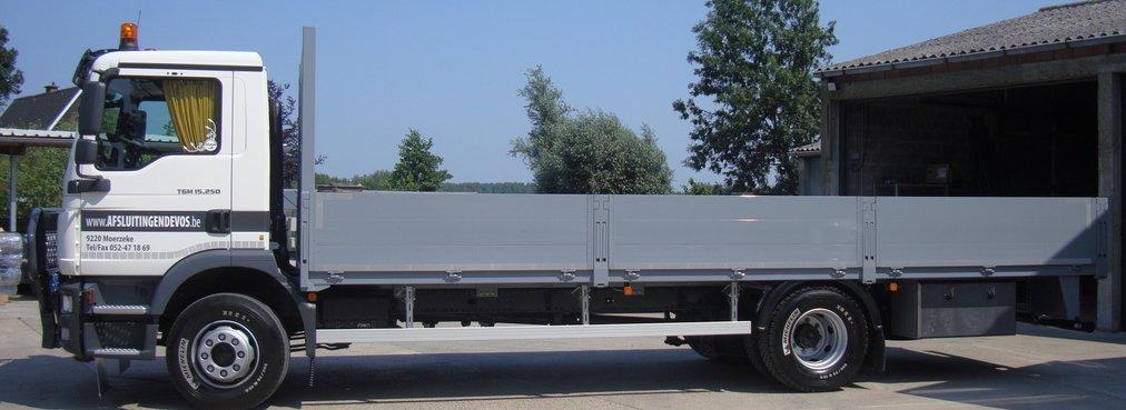 Vrachtwagen Devos